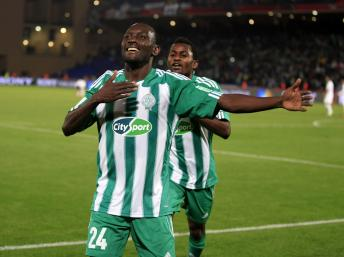 Vive=ien Mabidé après but face à Atlético Mineiro de Ronaldhino
