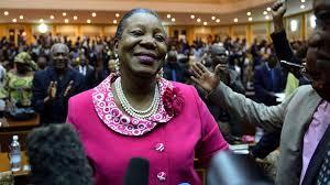 Catherine SAMBA-PANZA, Présidente de la transition en Centrafrique (crédit-photo: google.com)