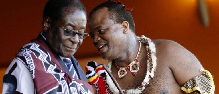 Article : Le roi du Swaziland Mswati III a présenté sa 15e épouse