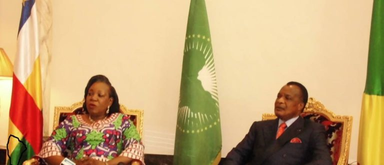 Article : Catherine Samba PANZA au Congo: première visite, premier incident