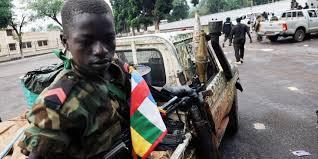 Enfant soldat de l'ex séléka