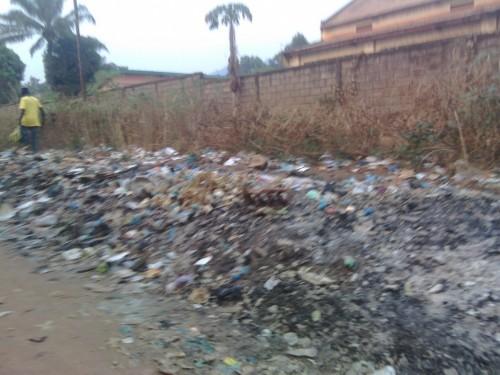 Image prise dans l'un des quartiers de Bangui/Odilon Doundembi