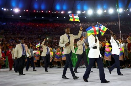 Article : JO 2016 : 6 athlètes Centrafricains à Rio malgré tout