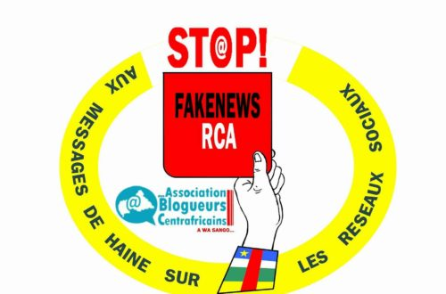 Article : Les blogueurs centrafricains disent stop aux fake news