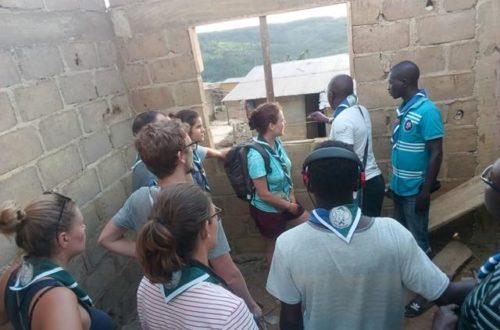Article : Le clan des scouts ivoiro-suisses donne vie au projet « Maison Connectée du Savoir » à Grand-Lahou