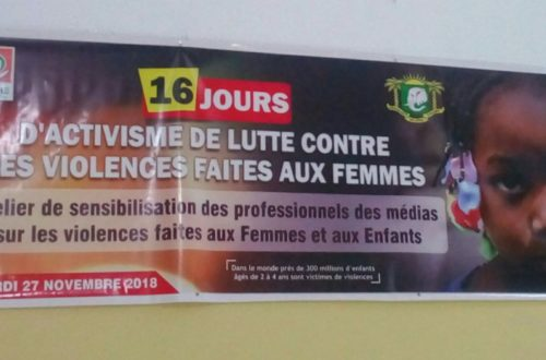 Article : #EcoutezMoiAussi, je dis non à la culture du silence face aux violences basées sur le genre