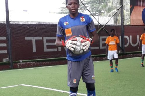 Article : Centrafrique – Football : Christopher Bangavalou, un gardien de but professionnel en devenir