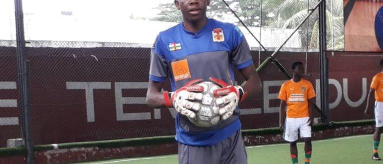 Article : Centrafrique – Football : Christopher Bangavalou, un gardien de but professionnel en devenir
